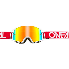 ONeal B-20 Goggle FLAT ruby red/white-radium